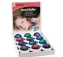 Omni Massage Roller Kit White cap Assorted Colors Qty by teammedicalgrou