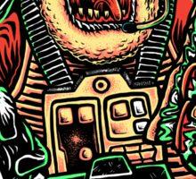 Zombie Star Farter Pilot Sticker