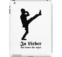 Yes Dear - whatever you say [German] iPad Case/Skin