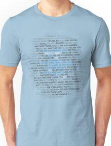 River's marriage proposal Unisex T-Shirt