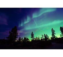 Northern Lights aurora borealis Photographic Print