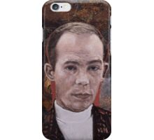 Portrait of Hunter S. Thompson iPhone Case/Skin