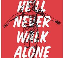 Steven Gerrard - He'll Never Walk Alone by jbruntondesign