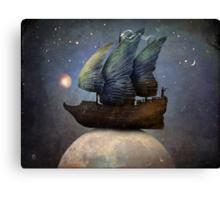 Sailing the Universe Canvas Print