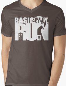 Dr huh? Mens V-Neck T-Shirt