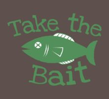 Take the BAIT! with a fish  Kids Clothes