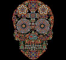 Flower Sugar Skull by sale