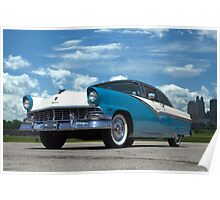 1956 Ford Victoria Poster