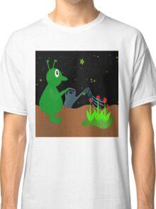 Derek works in the garden Classic T-Shirt