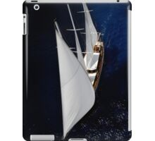 sailboat sailing iPad Case/Skin