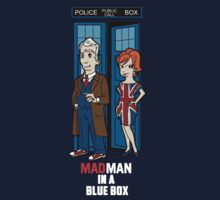 Mad Man In A Blue Box Kids Clothes