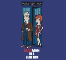 Mad Man In A Blue Box by TopNotchy