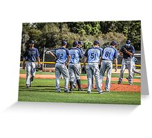 Tampa Bay Rays Baseball Team Greeting Card