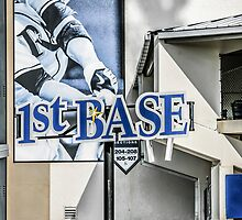 1st Base Tampa Bay Rays by Chris L Smith