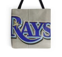 Tampa Bay Rays Logo, Florida Tote Bag