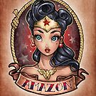 Amazon Pinup by Tim  Shumate