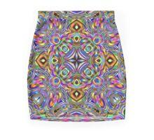 Infinite Colors Mandala Mini Skirt