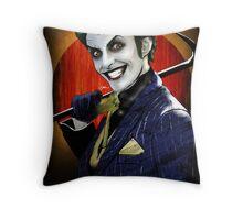 The Joker 'harleys joker'  Throw Pillow