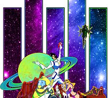 Dandy Vacation. In Space by RileyRiot