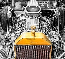 Selective toned Ford Model T Hot Rod by chris-csfotobiz