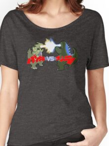Tyranitar VS Godzilla Women's Relaxed Fit T-Shirt