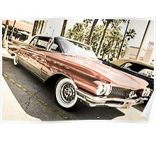 1960s Buick  Le Sabre Convertible Poster