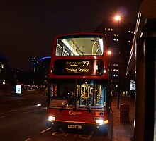 London Bus- Tooting Station by thornerfhammer