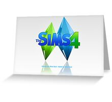 The sims 4 arrival  Greeting Card