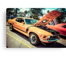 1974 Ford Mustang Boss 302 Muscle Car Canvas Print