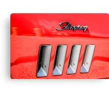 Red Corvette Stingray Gills Canvas Print