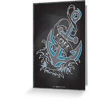 Chalk Board Tattoos - Hope Greeting Card