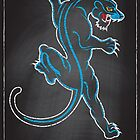 Chalk Board Tattoos - Panther by satansbrand