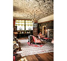 Stately Home Living Room Photographic Print