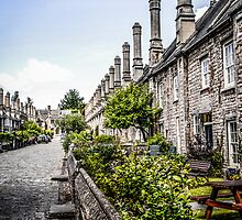 Vicars Close, Wells by Chris L Smith