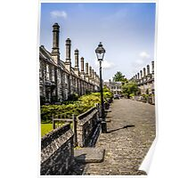 Vicars Close, Wells, Somerset Poster