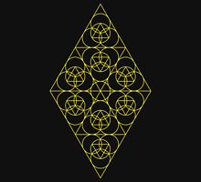 Diamond Matrix ~ 33 Year cycle Zipped Hoodie