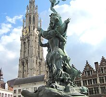 Icons of Antwerp, Belgium by Patricia127