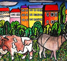 Cow Country by Monica Engeler