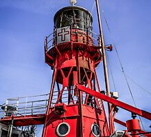 Cardiff Lightship by Chris L Smith
