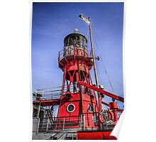 Cardiff Lightship Poster