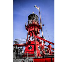 Cardiff Lightship Photographic Print
