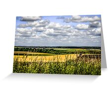 Rural Dorset Landscape Greeting Card