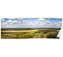 Rural Dorset Panoramic Poster