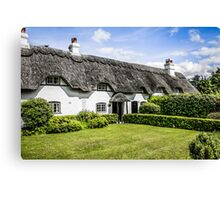 White Cottage of Hampshire Canvas Print