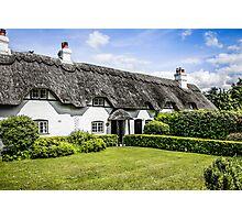 White Cottage of Hampshire Photographic Print