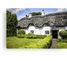 Thatched Cottage of Hants Canvas Print