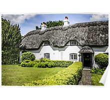 Thatched Cottage of Hants Poster