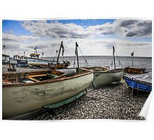 Beached Boats at Beer Poster