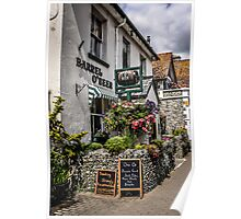 Village of Beer Pub in Devon England Poster