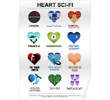 Sci-Fi Love Poster